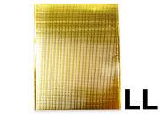 保冷袋 持ち手穴無し 内テープ無し 金色 ゴールド LLサイズ