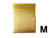 保冷袋 持ち手穴無し 内テープ無し 金色 ゴールド Mサイズ