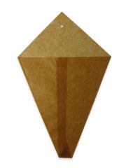 ロウ引き三角袋